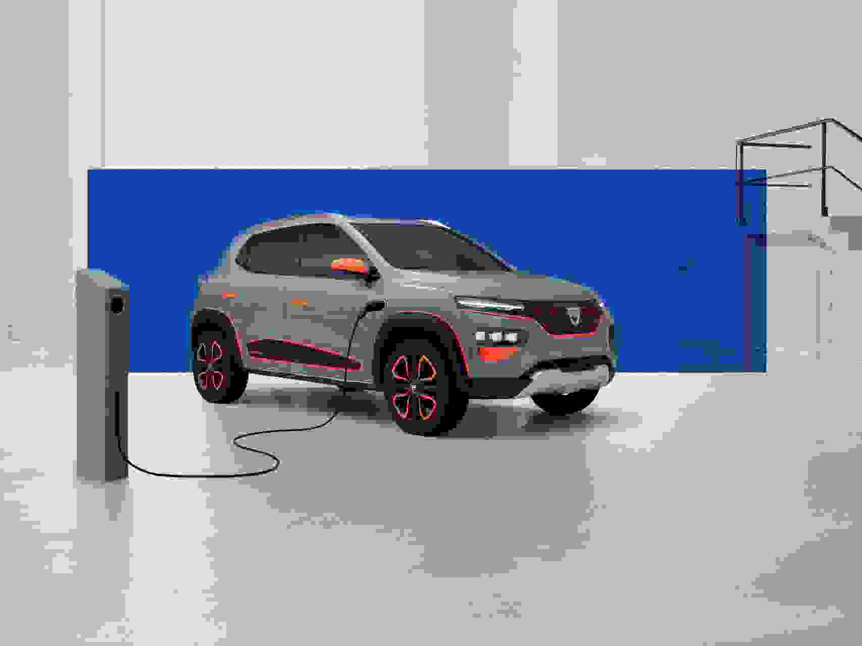 2020 Dacia SPRING Show Car