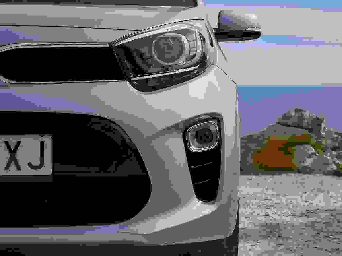 Kia Picanto 2018 Eksterior Front Forlygte Lyseblaa