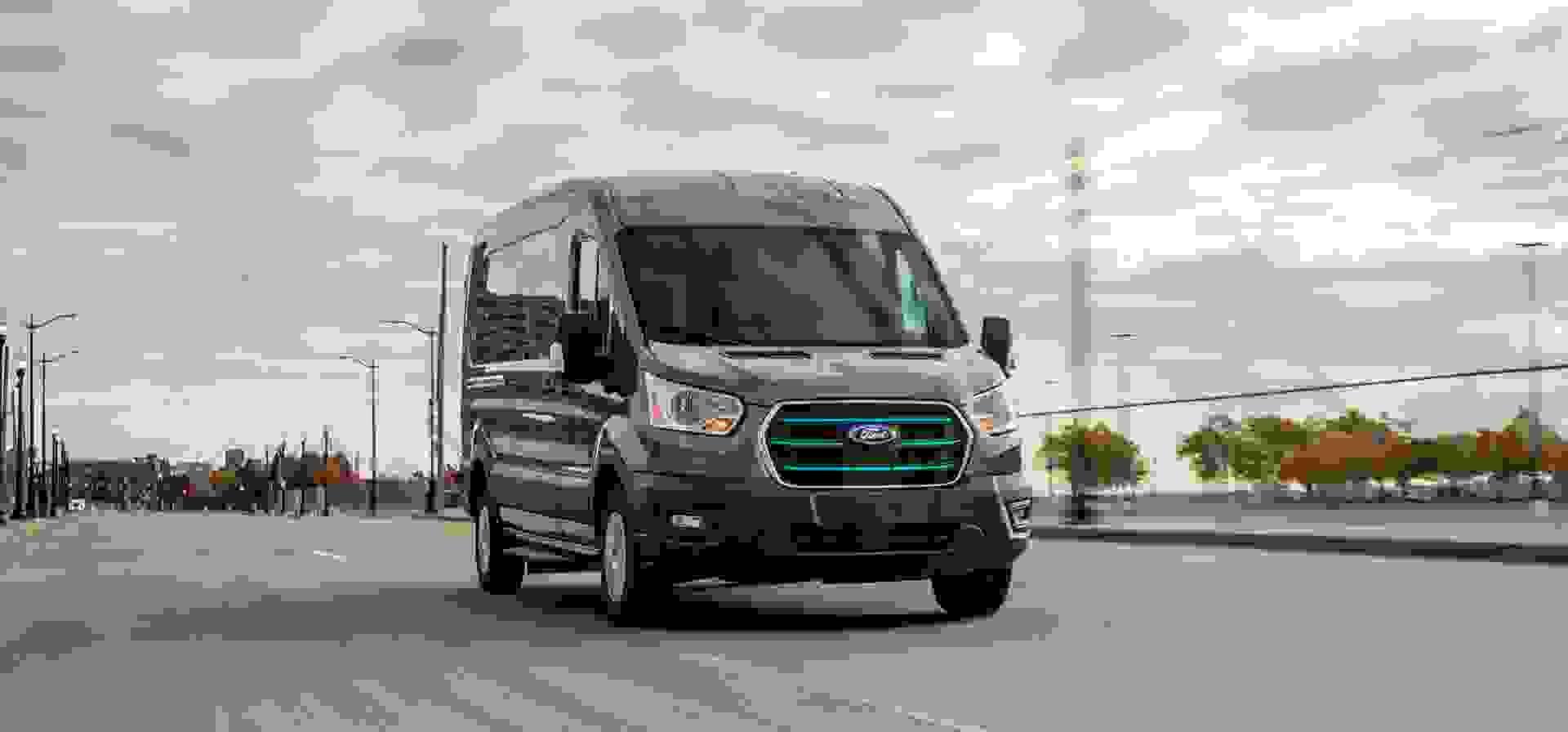 Ford E Transit Forfra