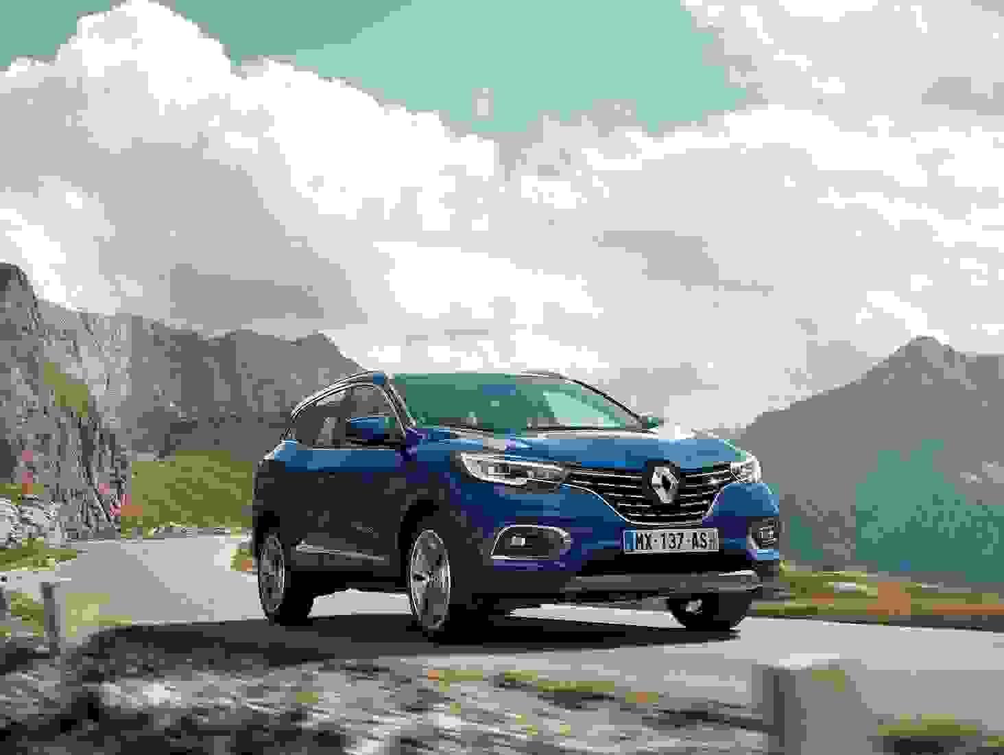 Renault Kadjar 2018 Eksterior Familiebil Hoejbenet Firhjulstraek