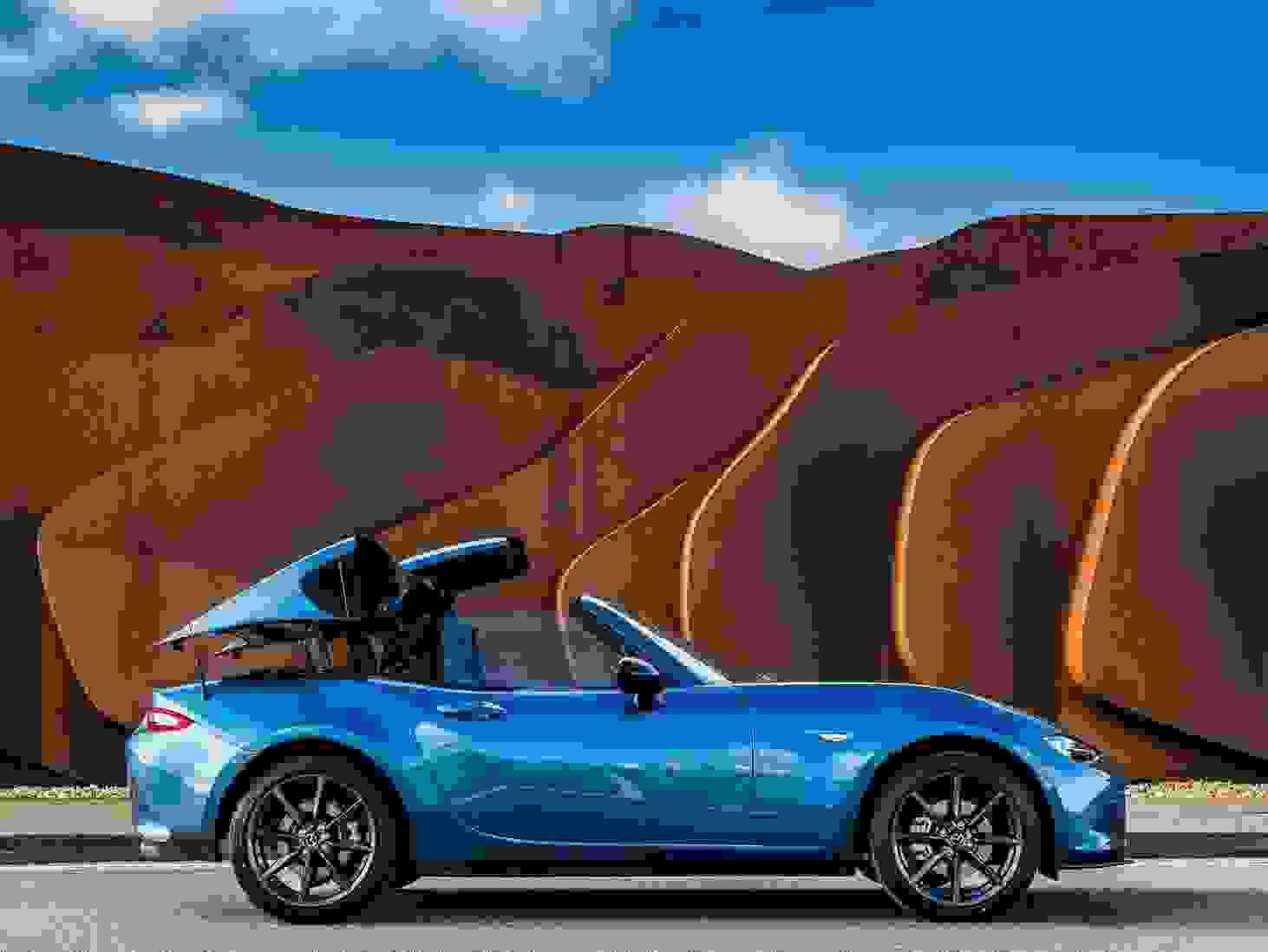 Mazda Mx 5 2018 Eksterior Fastback Aaben Bil Roadster Sportsvogn