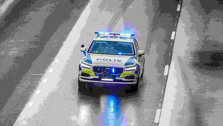 201323 Volvo V90 As A Police Car