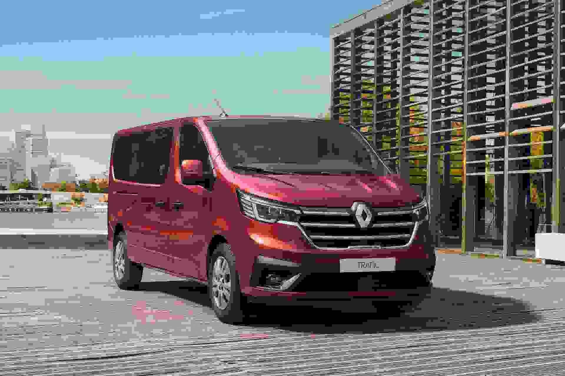 Renault Trafic Forfra