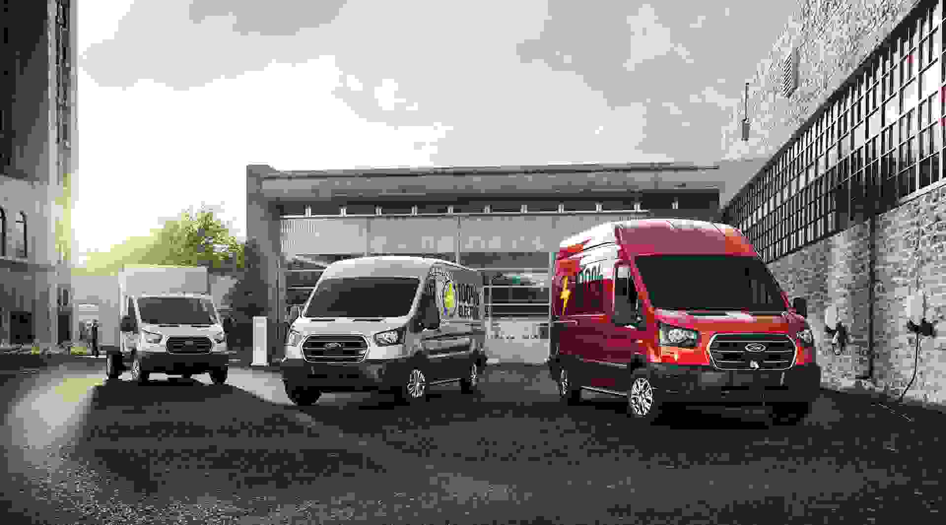 Ford E Transit Lineup