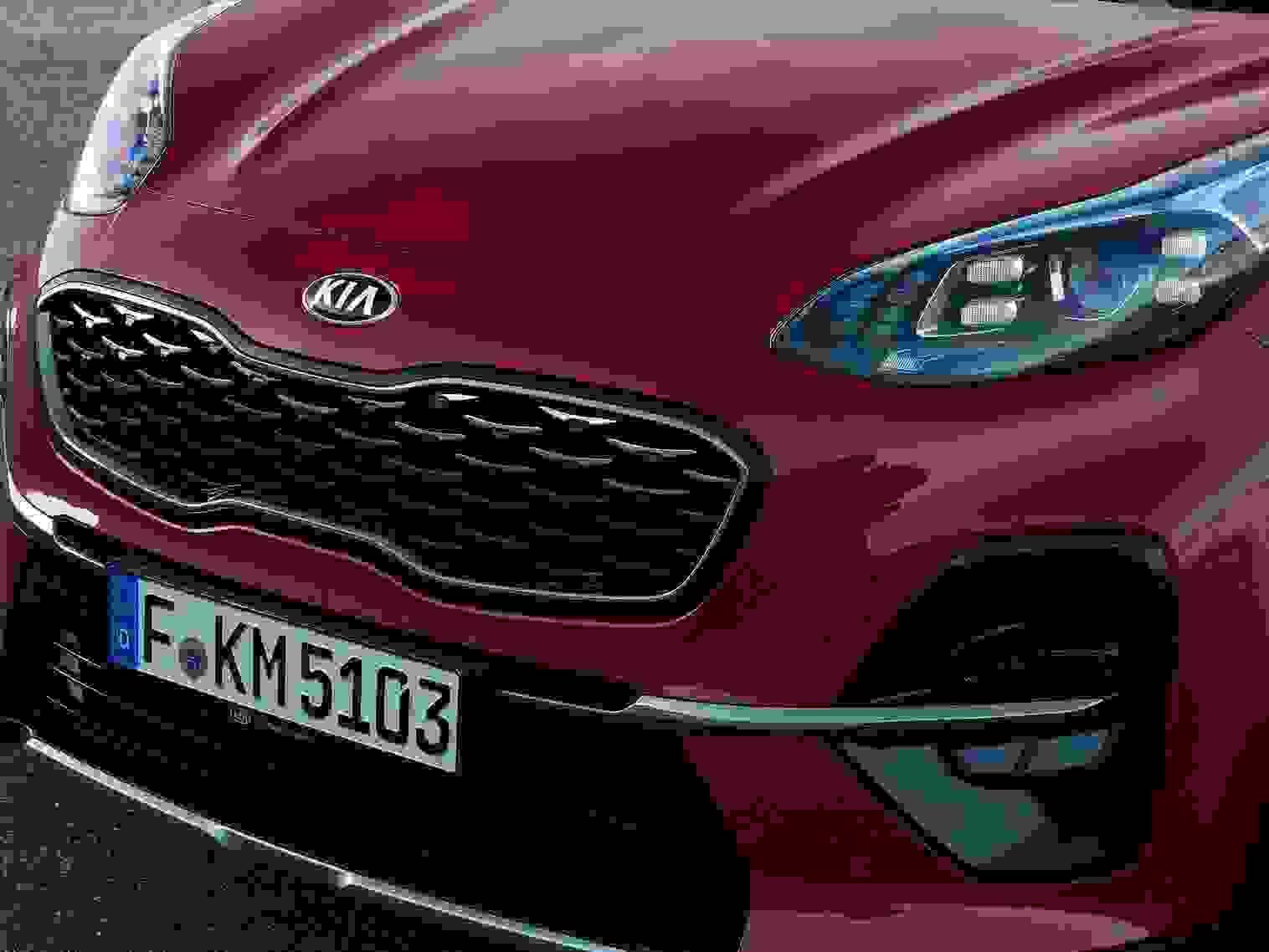 Kia Sportage 2018 Eksterior Front Forlygte