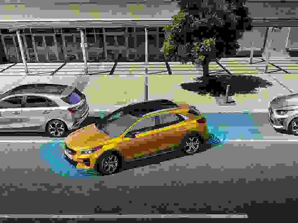 Kia Xceed Parkering