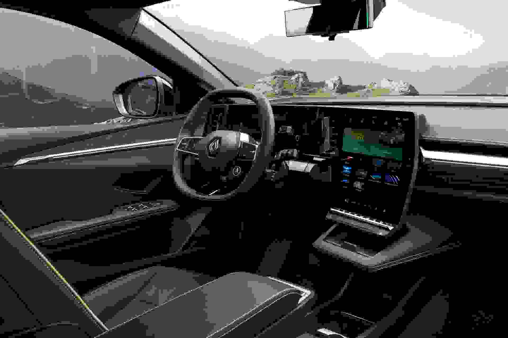 Renault Megane Electric2022 Interior2