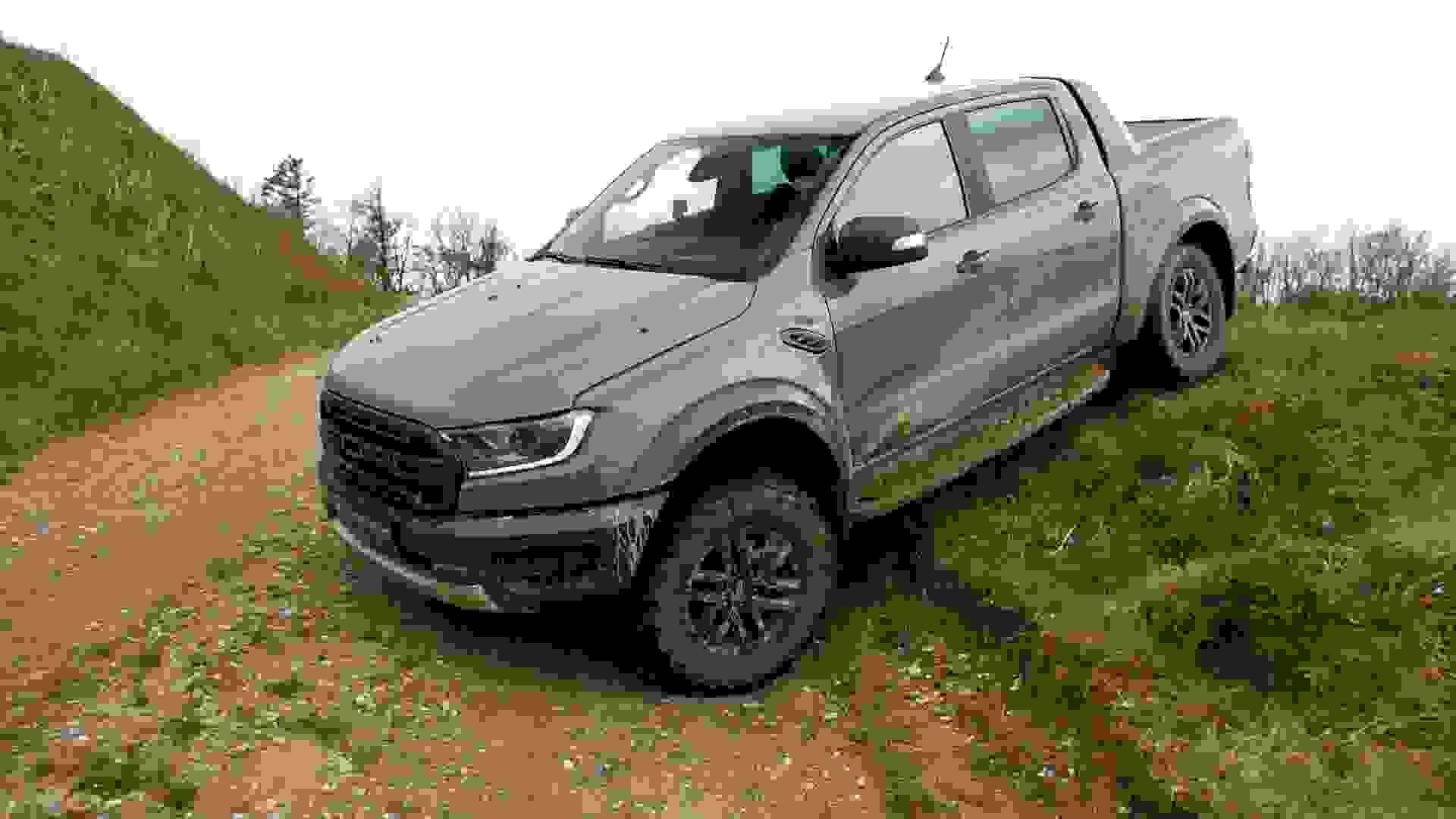 Ford Ranger Raptor Forfra