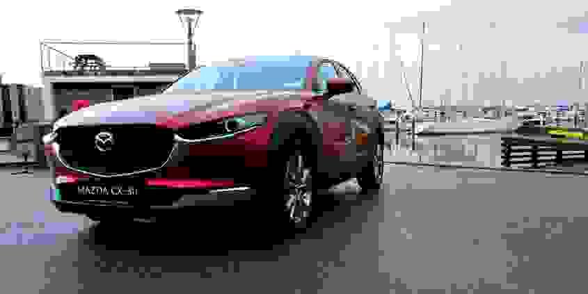 Mazda CX30 Forfra