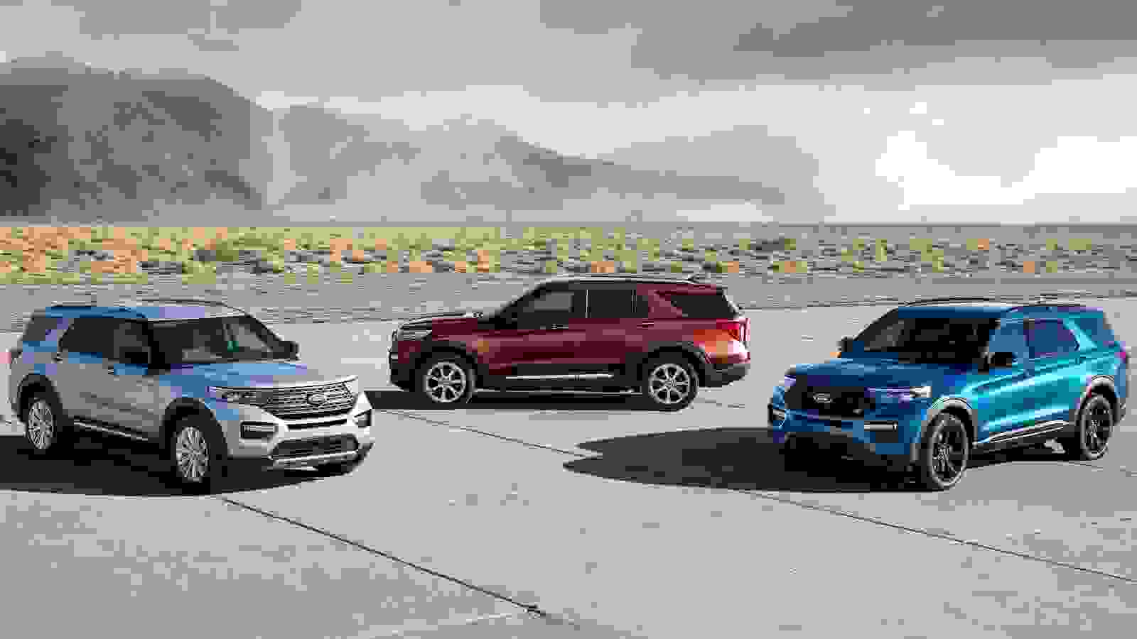 Ford Explorer ST 2020 1600 0A