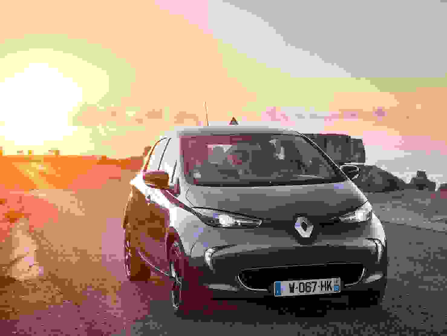 Renault Zoe 2018 Eksterior Kompakt Elbil Elektrisk