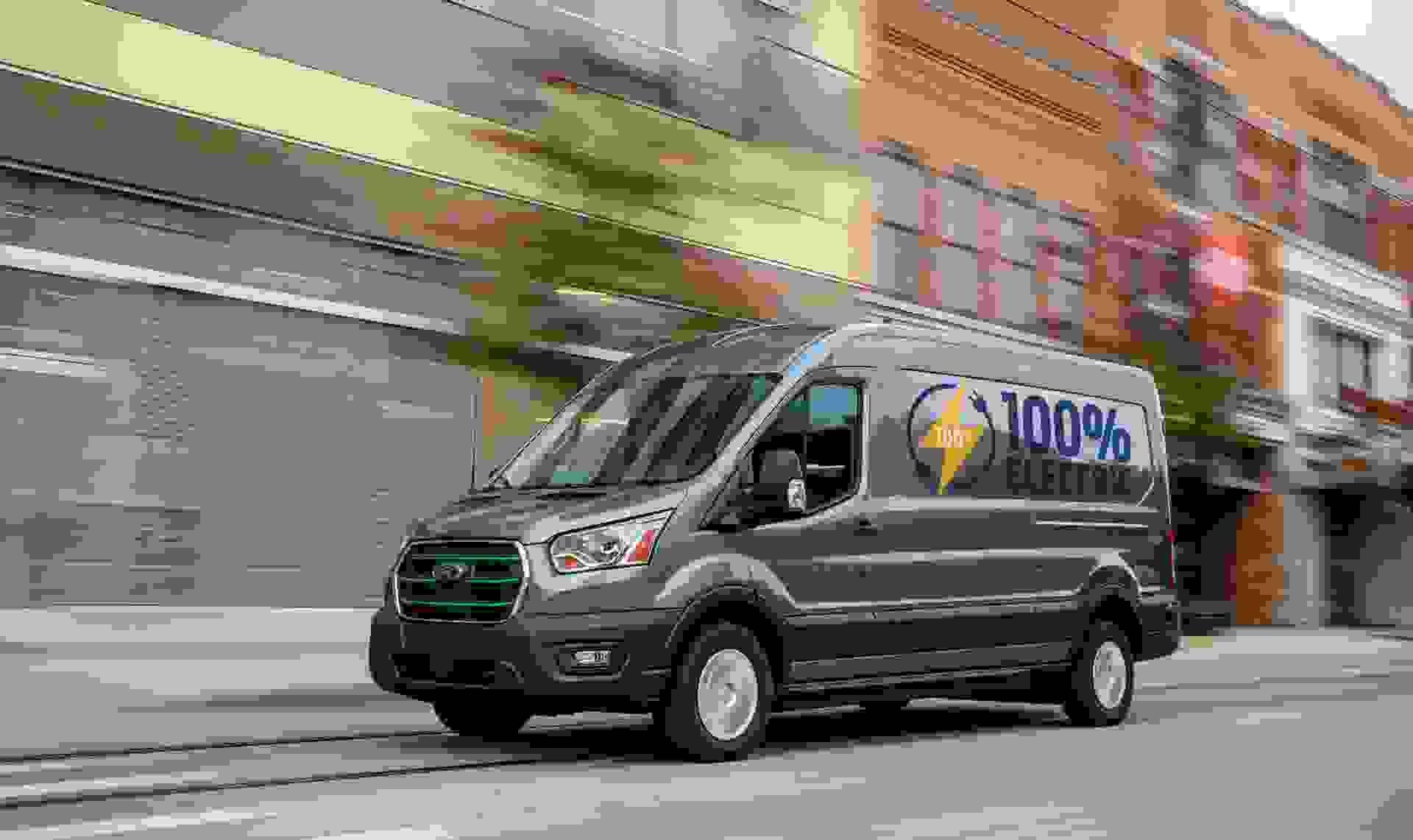Ford E Transit Driving