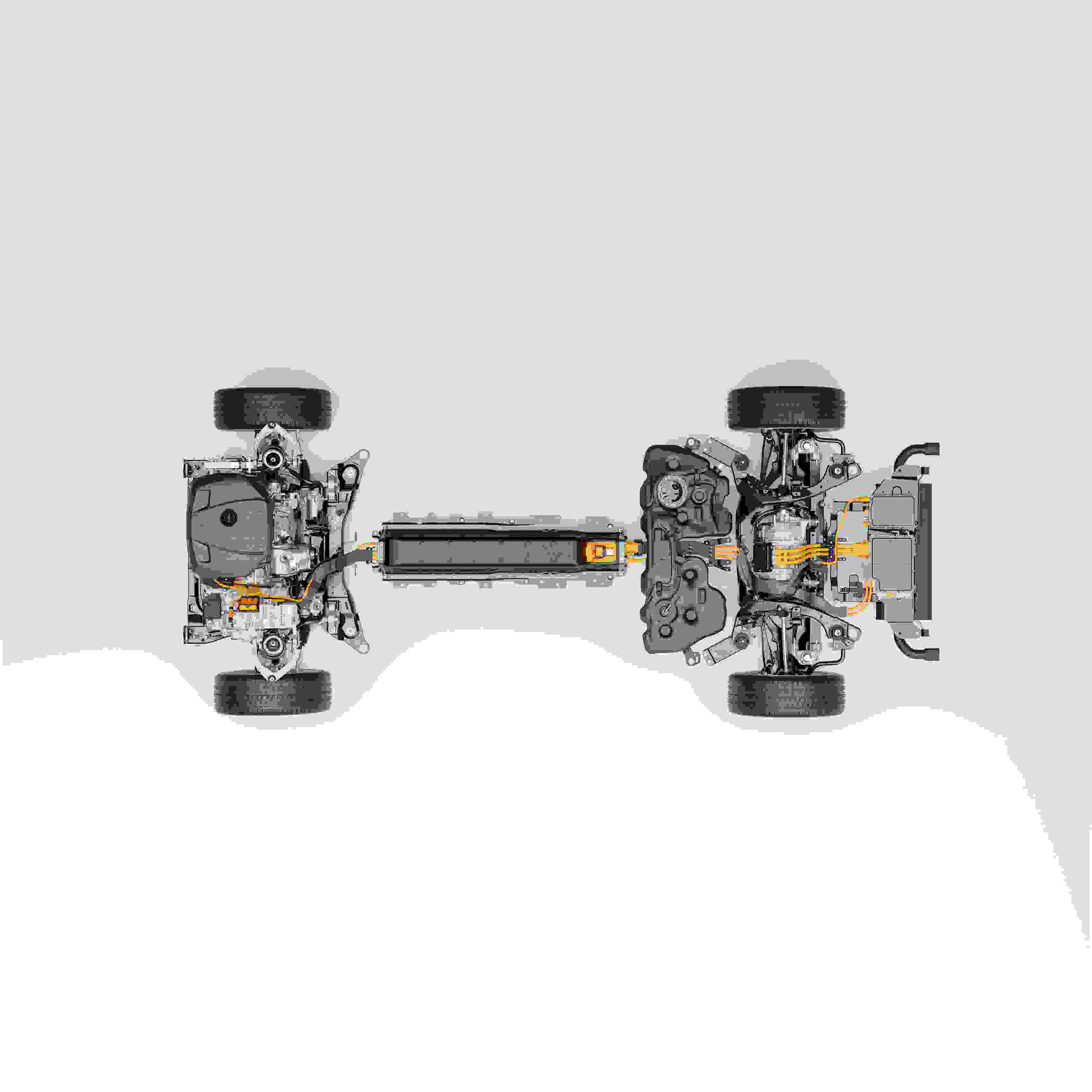 2049 Technical Cutaway Volvo Cars New Recharge Plug In Hybrid Powertrain