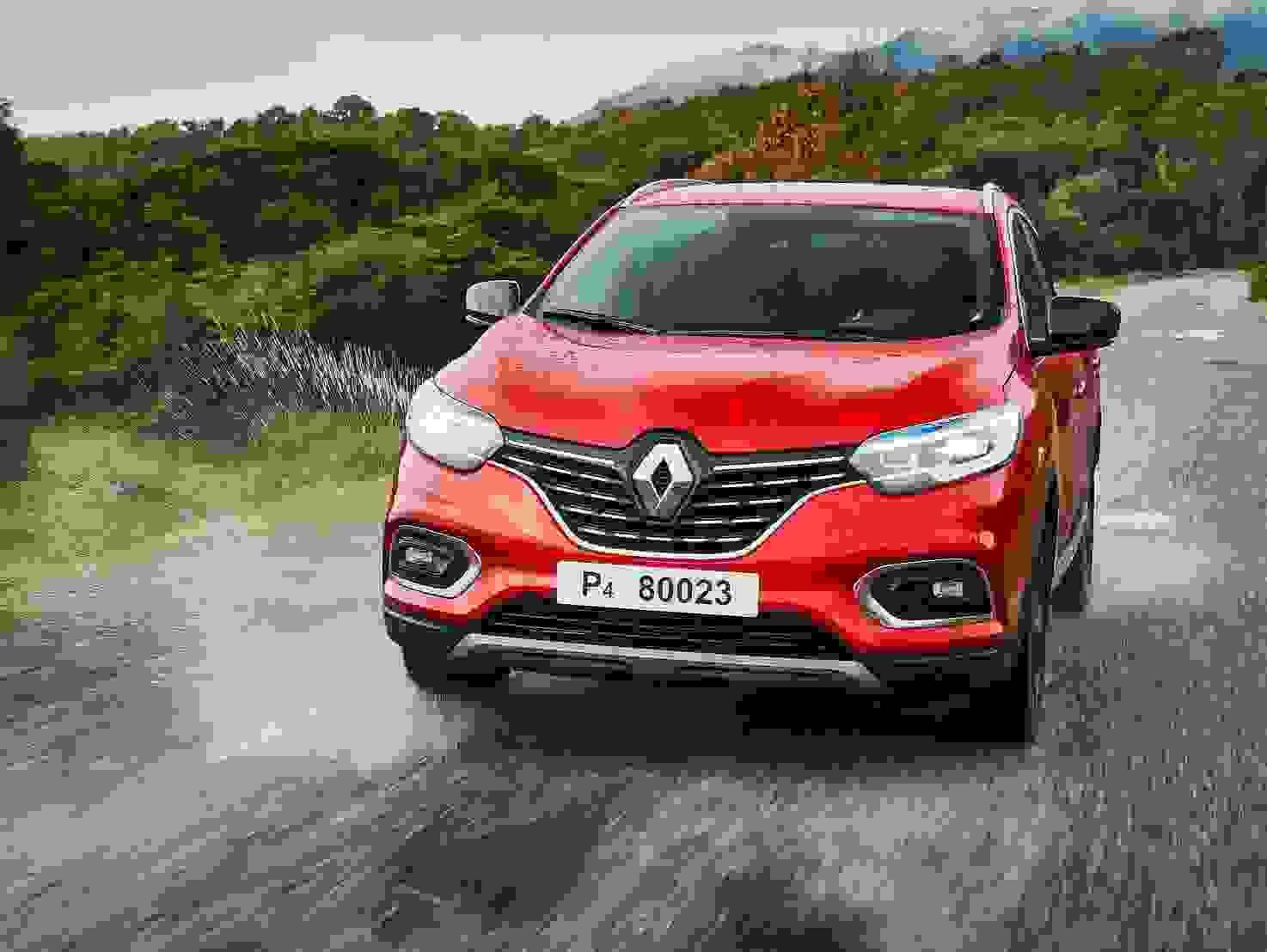 Renault Kadjar 2018 Eksterior Roed Suv Fleksibel Offroad Firhjulstraek