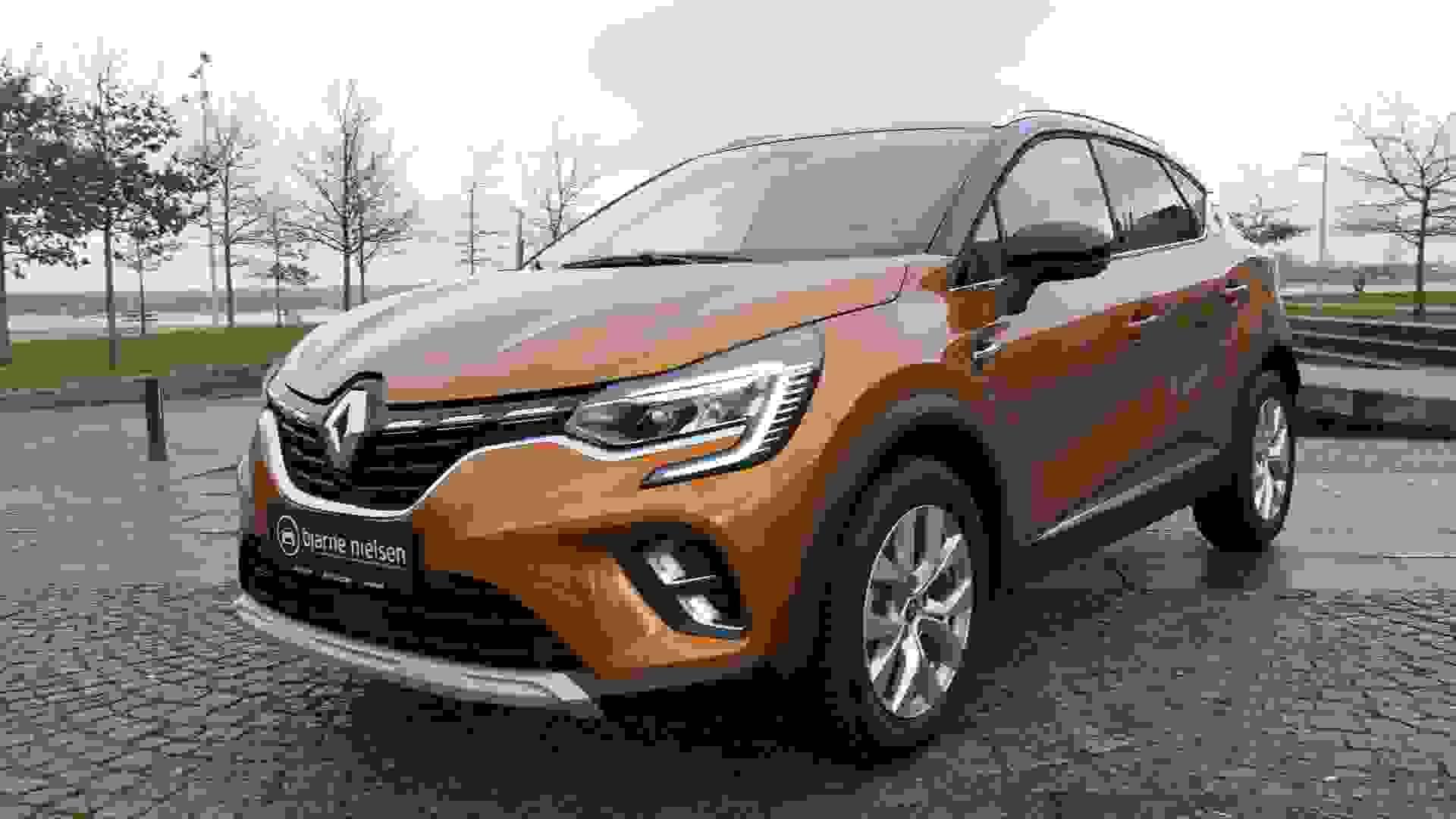 Renault Captur Forfra