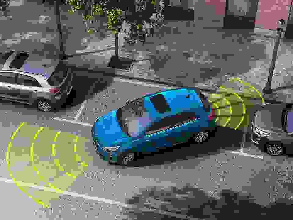 Kia Rio Parking Assitant