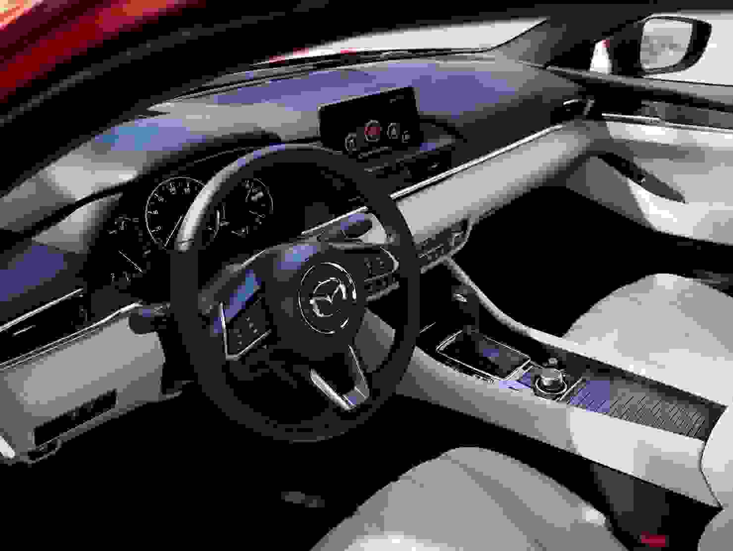 Mazda6 2018 Interior Foerersaede Rat Udstyr