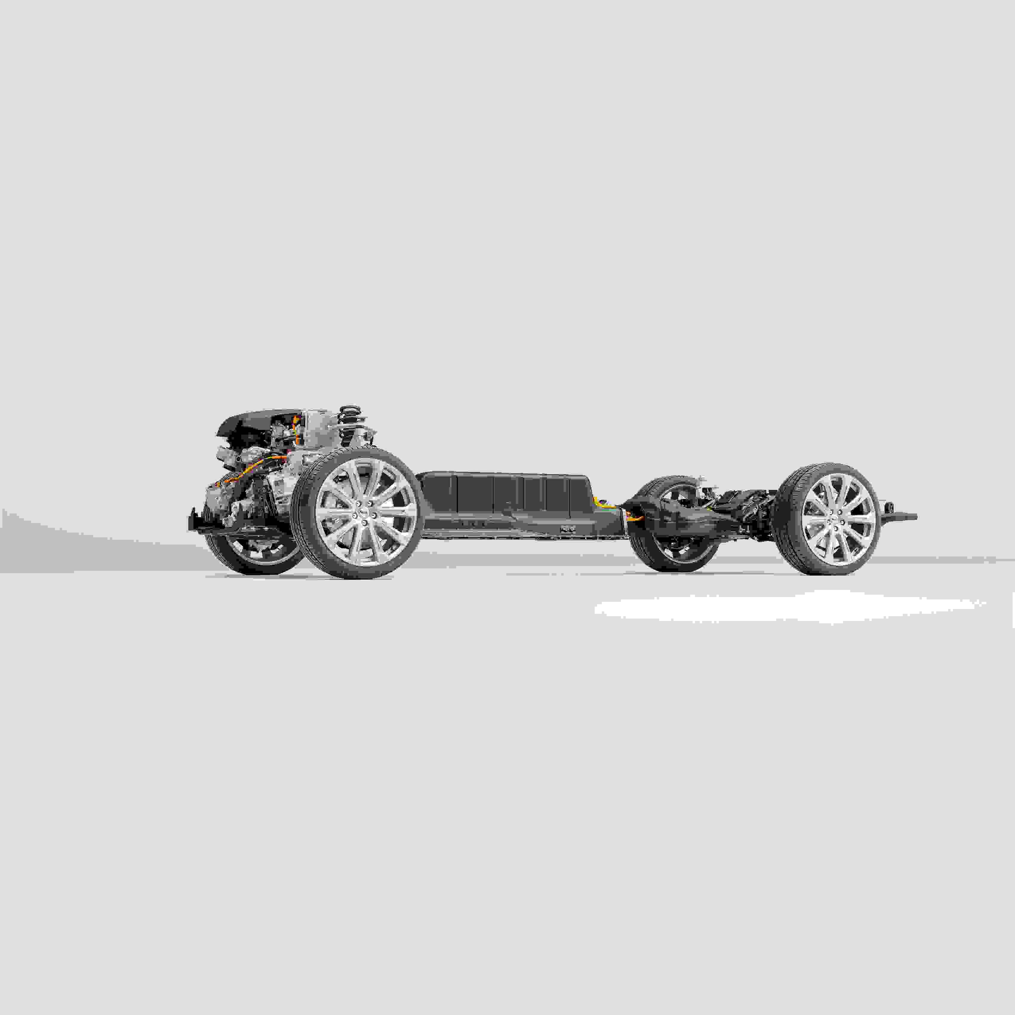 2048 Technical Cutaway Volvo Cars New Recharge Plug In Hybrid Powertrain
