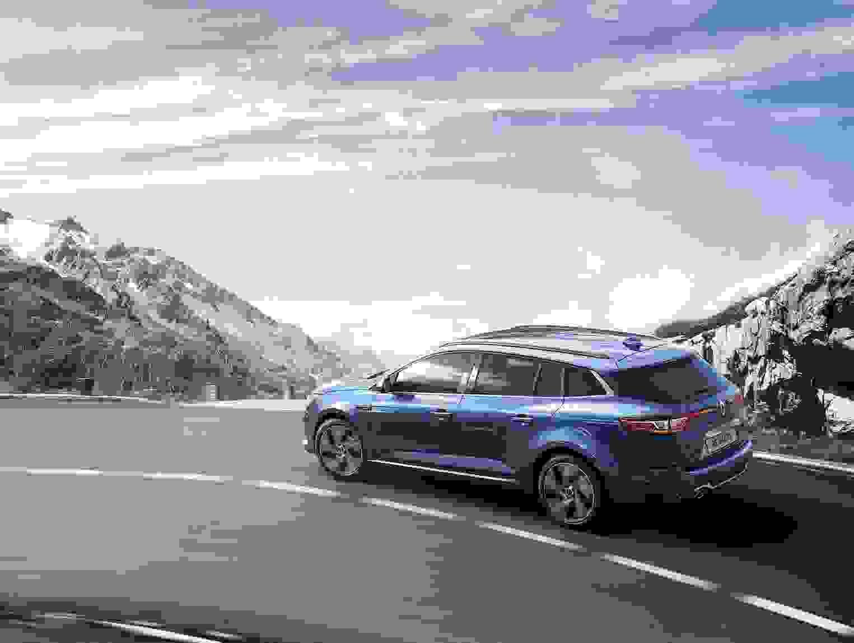 Renault Megane Sport Tourer 2018 Eksterior Stationcar Blaa