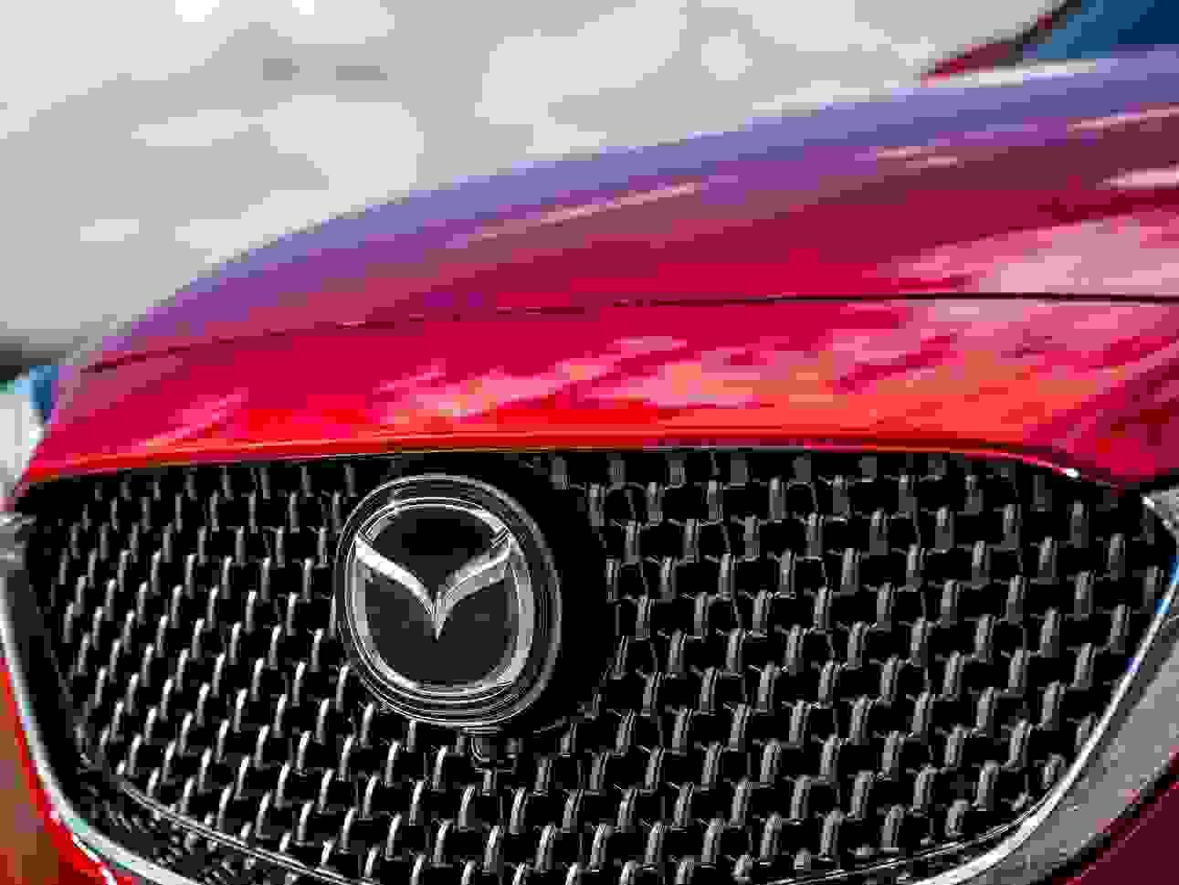 Mazda6 2018 Eksterior Radar Front Koelergitter