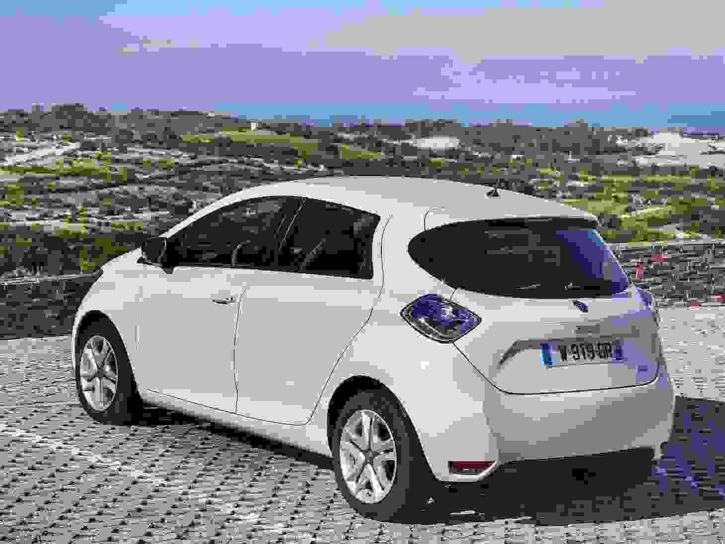 Renault Zoe 2018 Eksterior Elektrisk Bil Elbil Ingen Udladning