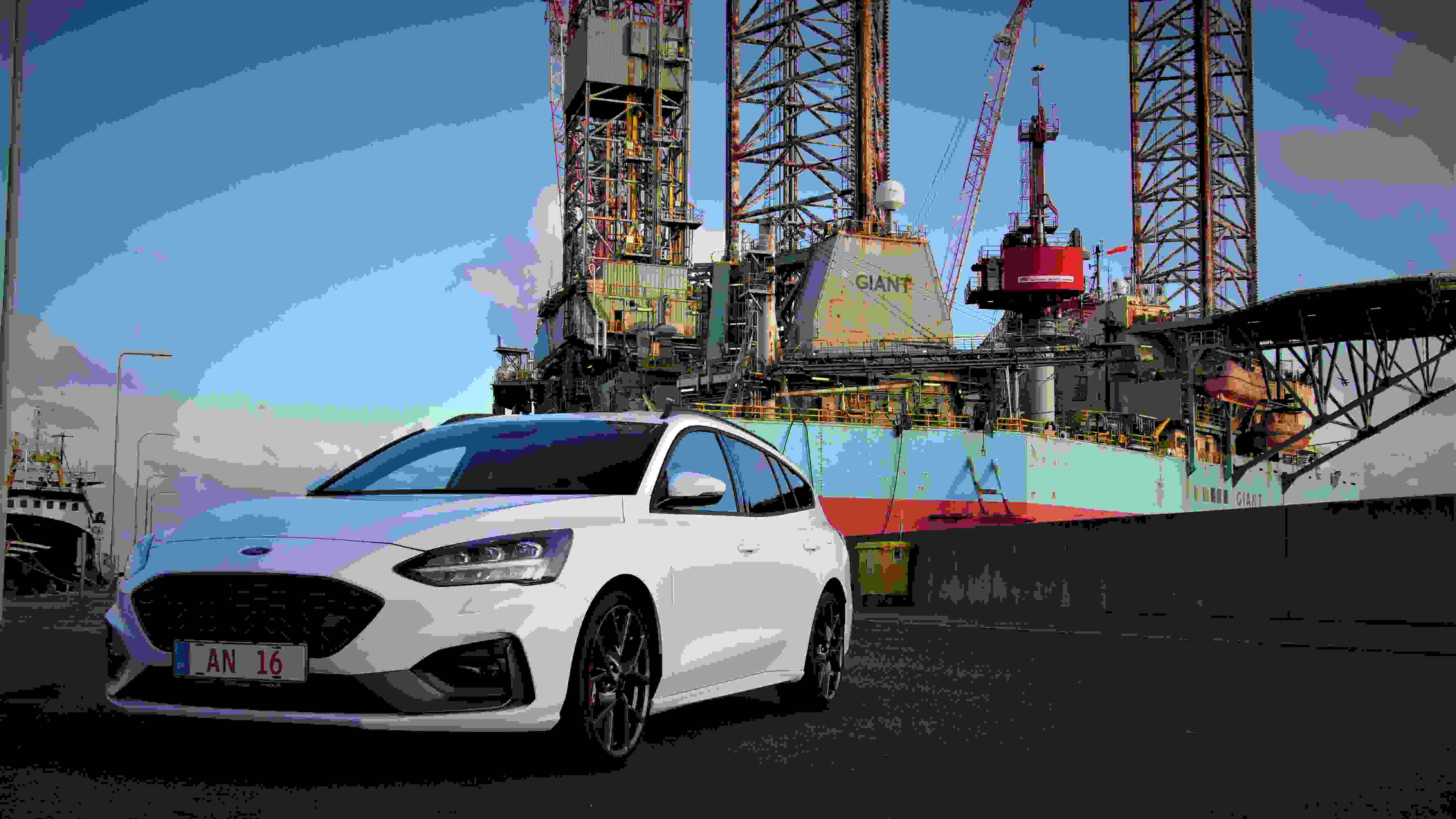 Ford Focusst Forfra