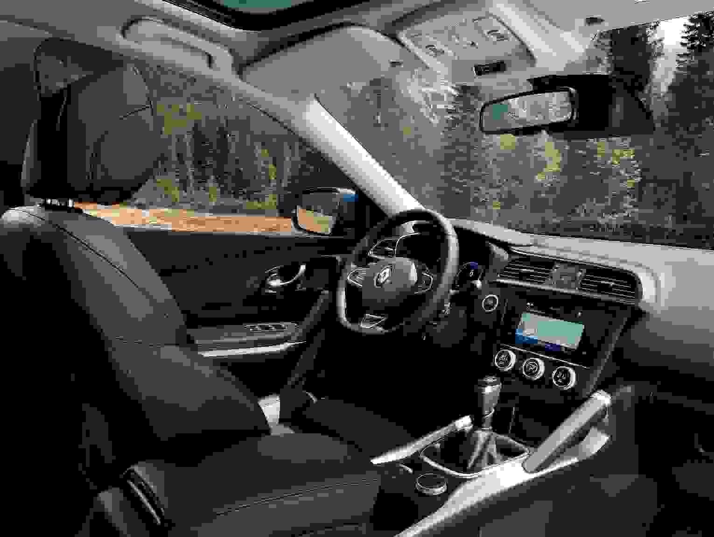 Renault Kadjar 2018 Interior Midterkonsol Udstyr Fleksibel Instrumentpanel