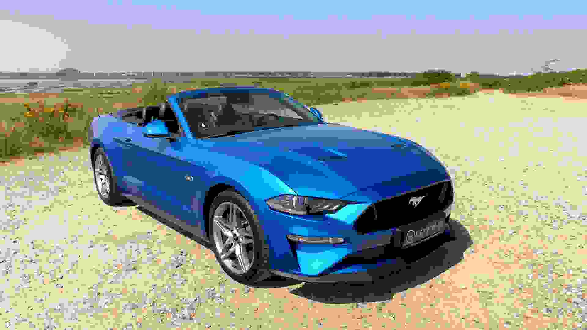Ford Mustang Forfra