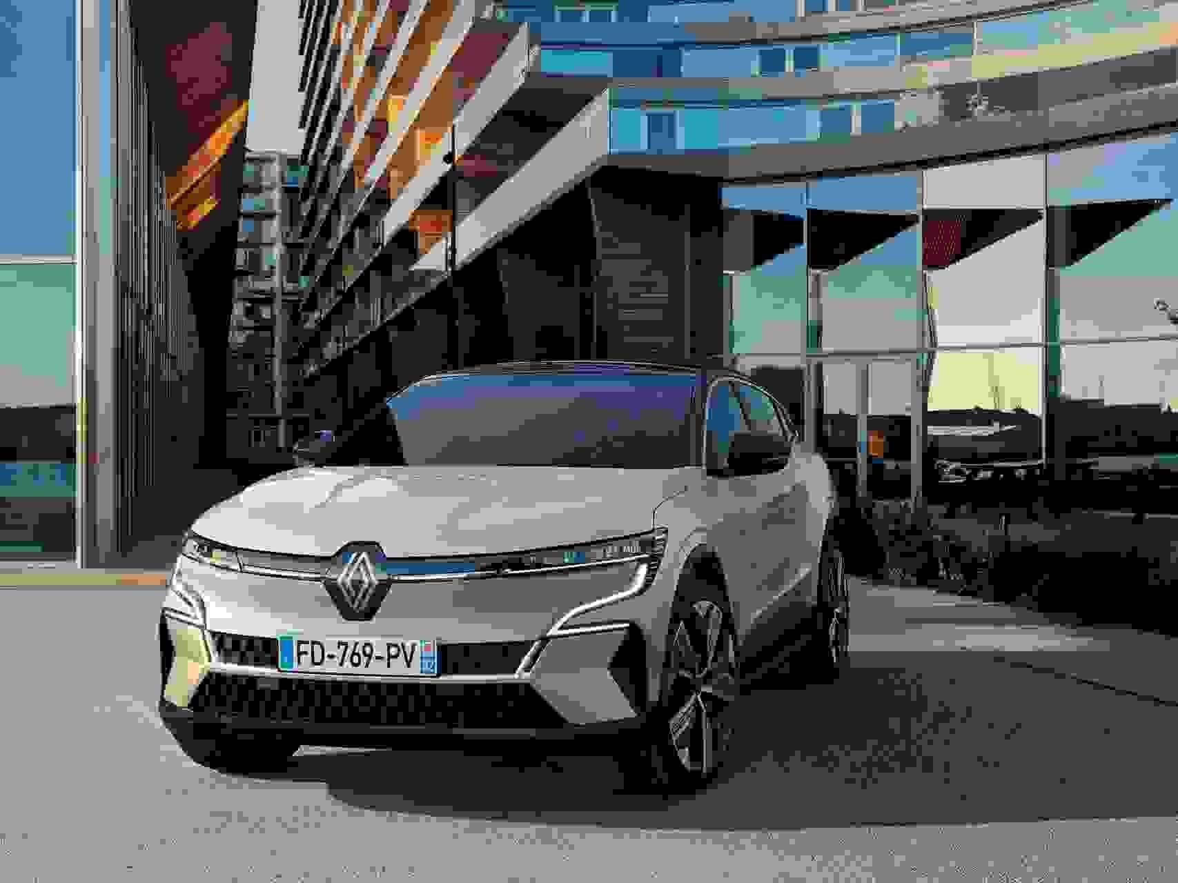 Renault Megane Electric2022 Forfra